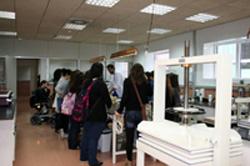 Visita taller restauración