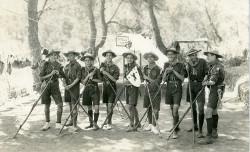 Exploradores en Sierra Espuña (1928)