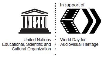 Logo Unesco-Dia Mundial Patrimonio Audiovisual