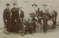 Grupo con burro