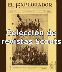 Colección revistas scouts