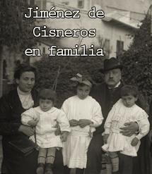 Daniel Jiménez de Cisneros en familia