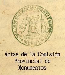 Sello de la Comisión Provincial de Monumentos