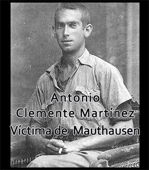 Antonio Clemente, víctima de Mauthausen