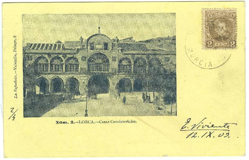 Postal de Lorca