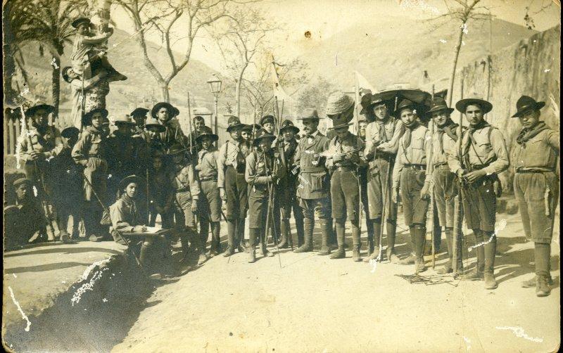 Scouts (Colección de la familia Amorós)