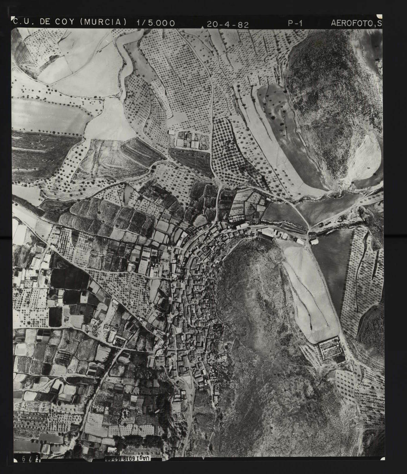 Vista aérea de Coy