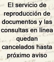 Cancelado el servicio de reproducción y las consultas en línea