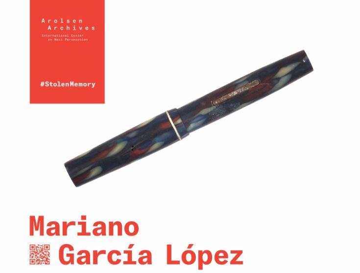 Pluma de Mariano García