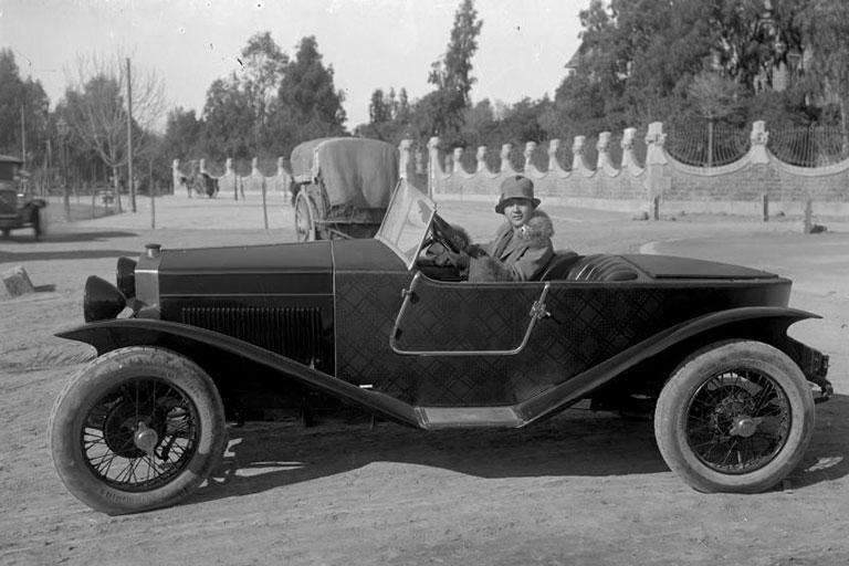 Imagen de vehículo antiguo