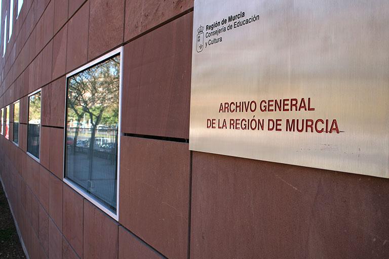 Fachada del Archivo General